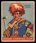 1933 Goudey Indian Gum #67  Simon Girty   Front Thumbnail