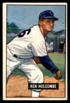 1951 Bowman #267  Ken Holcombe  Front Thumbnail
