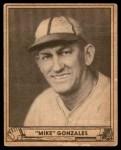 1940 Play Ball #115  Mike Gonzalez  Front Thumbnail