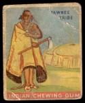 1933 Goudey Indian Gum #13   Pawnee Tribe  Front Thumbnail