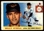 1955 Topps #57  Billy O'Dell  Front Thumbnail