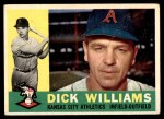 1960 Topps #188  Dick Williams  Front Thumbnail