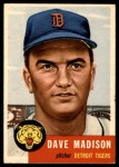 1953 Topps #99  Dave Madison  Front Thumbnail