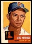 1953 Topps #63  Gus Niarhos  Front Thumbnail