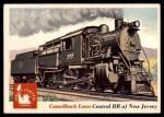 1955 Topps Rails & Sails #6   Camelback Locomotive Front Thumbnail