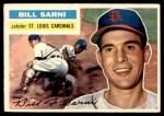 1956 Topps #247  Bill Sarni  Front Thumbnail