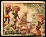 1950 Topps Bring Em Back Alive #10   Jungle Expedition Front Thumbnail