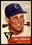 1953 Topps #73  Eddie Robinson  Front Thumbnail