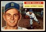 1956 Topps #263  Bob Miller  Front Thumbnail