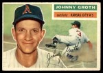 1956 Topps #279  Johnny Groth  Front Thumbnail