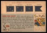 1955 Topps Rails & Sails #156   Greek War Ship Back Thumbnail