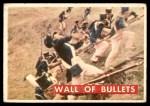 1956 Topps Davy Crockett Green Back #68   Wall of Bullets  Front Thumbnail