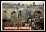 1956 Topps Davy Crockett #70   Defenses Crumble  Front Thumbnail