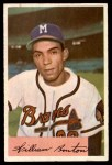 1954 Bowman #224  Billy Bruton  Front Thumbnail