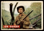 1956 Topps Davy Crockett #26   On Guard  Front Thumbnail