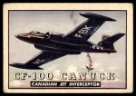 1952 Topps Wings #75   CF-100 Canuck Front Thumbnail