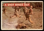 1956 Topps Davy Crockett Green Back #21   A Shot Rings Out  Front Thumbnail