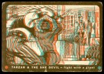 1953 Topps Tarzan and the She Devil #18   Fight with a Giant Front Thumbnail