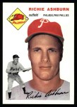 1954 Topps Archives #45  Richie Ashburn  Front Thumbnail