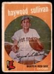 1959 Topps #416 xCRL Haywood Sullivan  Front Thumbnail