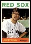 1964 Topps #248  Johnny Pesky  Front Thumbnail