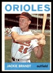 1964 Topps #399  Jackie Brandt  Front Thumbnail