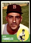 1963 Topps #28 xSTR Mike Fornieles  Front Thumbnail