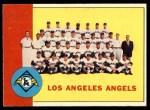 1963 Topps #39 ERR  Angels Team Front Thumbnail
