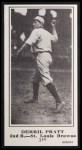 1916 M101-5 Blank Back Reprint #140  Derrill Pratt  Front Thumbnail