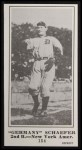 1916 M101-5 Blank Back Reprint #154  Germany Schaefer  Front Thumbnail