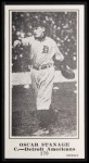 1916 M101-5 Blank Back Reprint #170  Oscar Stanage  Front Thumbnail