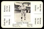 1936 S&S Game  Lloyd Waner  Front Thumbnail