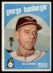 1959 Topps #529  George Bamberger  Front Thumbnail