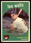 1959 Topps #105  Lee Walls  Front Thumbnail