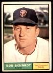 1961 Topps #31  Bob Schmidt  Front Thumbnail