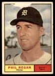 1961 Topps #439  Phil Regan  Front Thumbnail