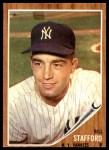 1962 Topps #570  Bill Stafford  Front Thumbnail