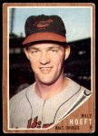 1962 Topps #134 NRM Billy Hoeft   Front Thumbnail