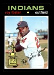1971 Topps #107  Roy Foster  Front Thumbnail