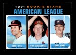 1971 Topps #559   -  Terry Cox / Bill Gogolewski / Gary Jones AL Rookies - Pitchers Front Thumbnail