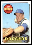 1969 Topps #353  Jeff Torborg  Front Thumbnail