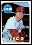 1969 Topps #581  Gary Nolan  Front Thumbnail