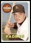 1969 Topps #452 YN Al Ferrara   Front Thumbnail