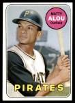 1969 Topps #490  Matty Alou  Front Thumbnail