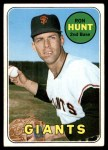 1969 Topps #664  Ron Hunt  Front Thumbnail