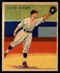 1935 Diamond Stars #16  Lloyd Waner   Front Thumbnail
