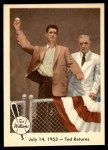 1959 Fleer #48   -  Ted Williams Ted Returns Front Thumbnail