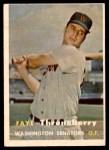 1957 Topps #356  Faye Throneberry  Front Thumbnail