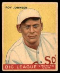 1933 World Wide Gum #8  Roy Johnson    Front Thumbnail