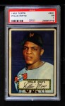 1952 Topps #261  Willie Mays  Front Thumbnail